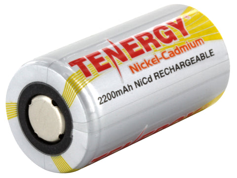 Tenergy NiCd SubC 2200mAh Rechargeable Battery Flat Top (1)