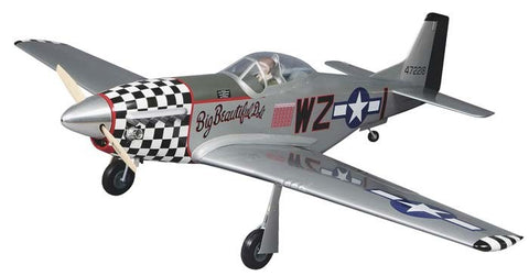 Top Flite Giant P-51D Mustang ARF 2.1-2.8 84.5