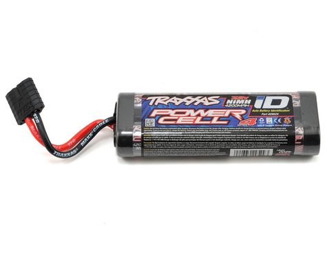 2952X: Traxxas Series 4 6-Cell Flat NiMH Battery Pack w/iD Connector (7.2V/4200mAh)