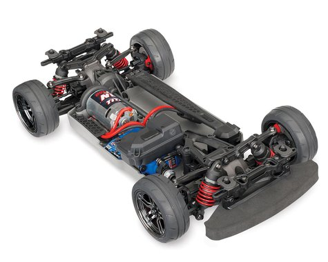 83024-4: Traxxas 4-Tec 2.0 1/10 Brushed RTR Touring Car Chassis (NO Body)*