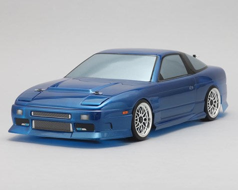Yokomo Nissan 180SX Street Version Drift Body Set (Clear)