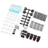 YEAH RACING QUTUS Slider 55mm Damper Set for 1/10 RC Drift Car Black (DBB-1055BK)