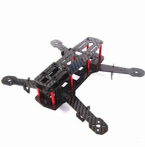 ZMR 250 Pure Carbon Fiber Quadcopter Frame with Integrated Screw Nuts