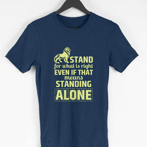 Men's T-Shirt - Stand for what's right