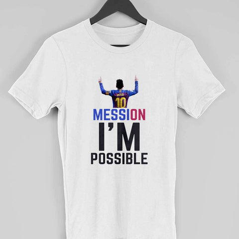 Men's T-Shirt - Mession Impossible (Leo Messi)