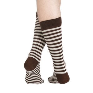 STRIPES BROWN CREAM