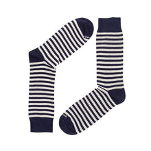 Load image into Gallery viewer, STRIPES NAVY CREAM