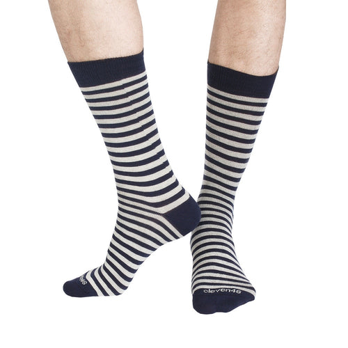 STRIPES NAVY CREAM