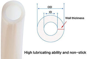 PTFE Teflon tubing - 2mm ID X 4mm OD for 1.75 Filament Bowden 3D Printer
