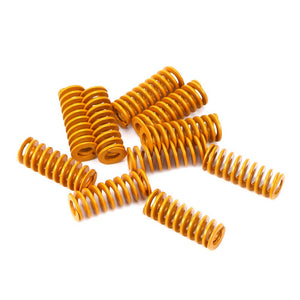 3D Printer Accessories 0.31 in OD 0.78 in Length Compression Springs Light Load for Creality CR-10 10S S4 Ender 3 Heatbed Springs Bottom Connect Leveling - 10 Pack