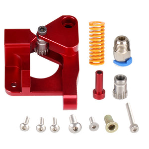 Aluminum Upgrade Dual Gear mk8 Extruder Kit 1.75mm