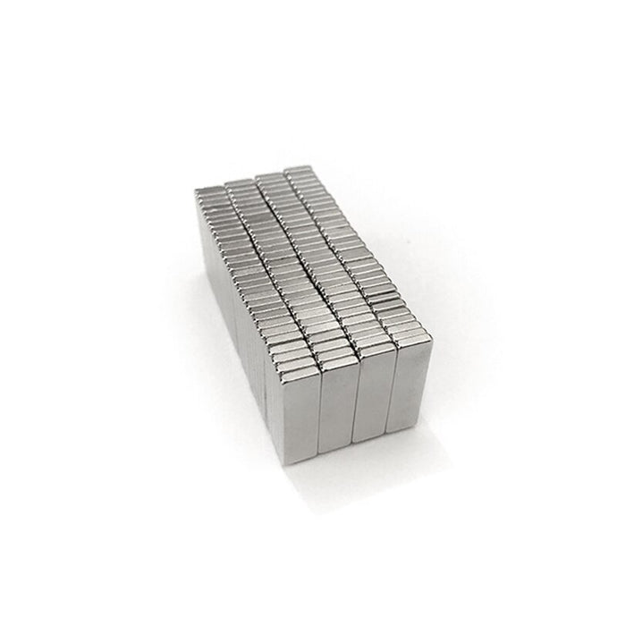 Strong N35 Magnet 20mm x 6mm x 2mm Square Rare Earth Square Permanent Neodymium Magnets