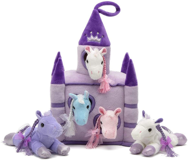 "11"" Purple Castle (Horses)"