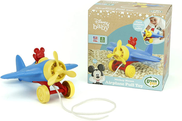 Mickey Mouse Airplane Pull Toy