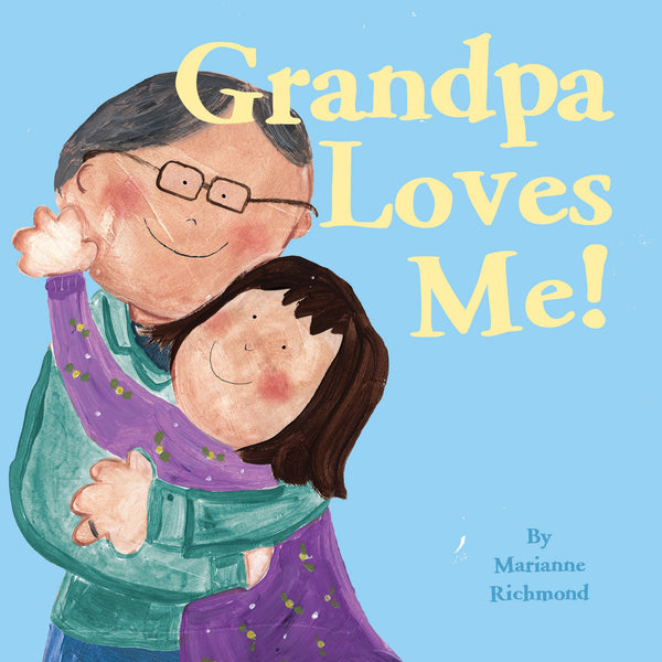 Grandpa Loves Me Book