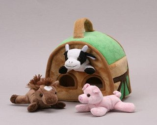 "8"" Farm Finger Puppet House"