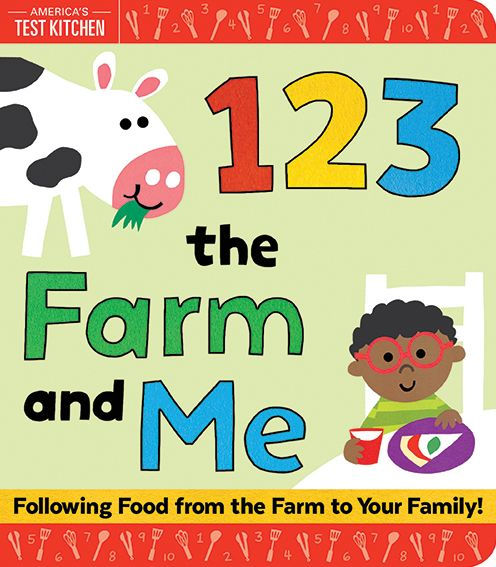 123 the Farm and Me Book