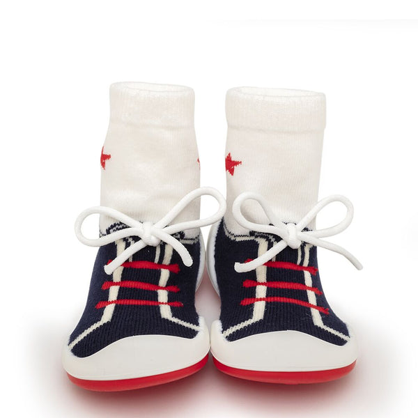 String-Navy Baby Shoes
