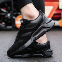 Men Mesh Shoes 2018 Fashion New Summer Breathable Height Increasing Hard-Wearing Men Sneakers Footwear Men Casual Shoes YET655