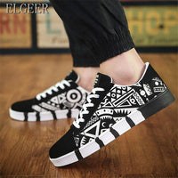 ELGEER 2018 spring and autumn new men's casual movement shoes canvas men's shoes men's Sneakers Platform shoes