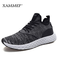 Men Casual Shoes Men Sneakers Brand Men Shoes Male Mesh Flats High Quality Breathable Slip On Loafers Spring Autumn Xammep