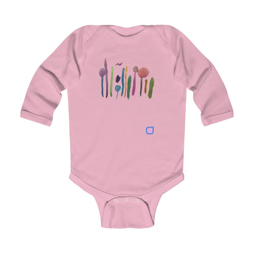 Lollifields Forever: Baby Bodysuit with Long Sleeves | Drewsi Donates
