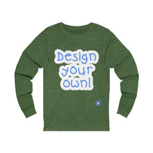 Load image into Gallery viewer, Design Your Own: Adult Unisex Long Sleeve T-Shirt | Drewsi Donates