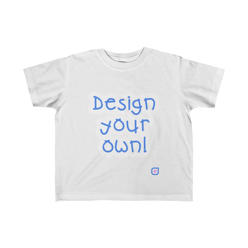 Design Your Own: Toddler T-Shirt | Drewsi Donates
