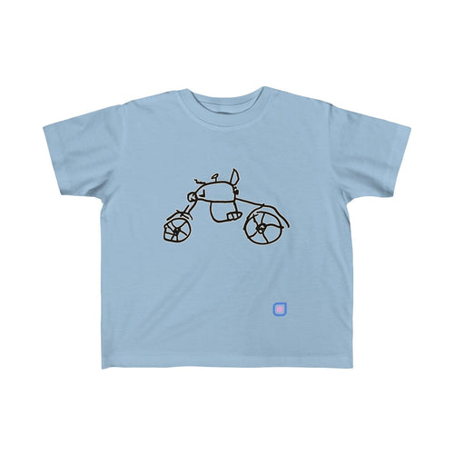 Bikie: Toddler T-Shirt | Drewsi Donates