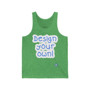 Design Your Own: Adult Unisex Tank Top | Drewsi Donates