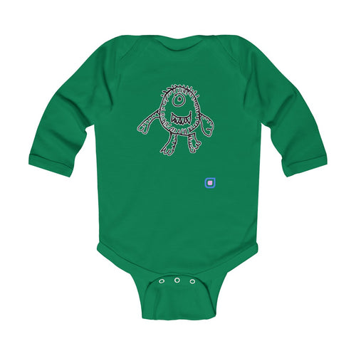 Alien: Baby Bodysuit with Long Sleeves | Drewsi Donates