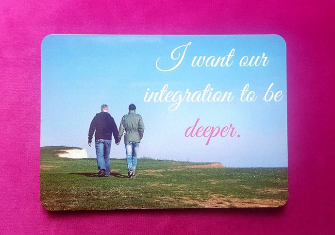 I Want Our Integration To Be Deeper Fridge Magnet - Magnets