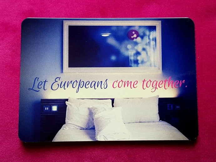 Let Europeans Come Together Fridge Magnet - Magnets