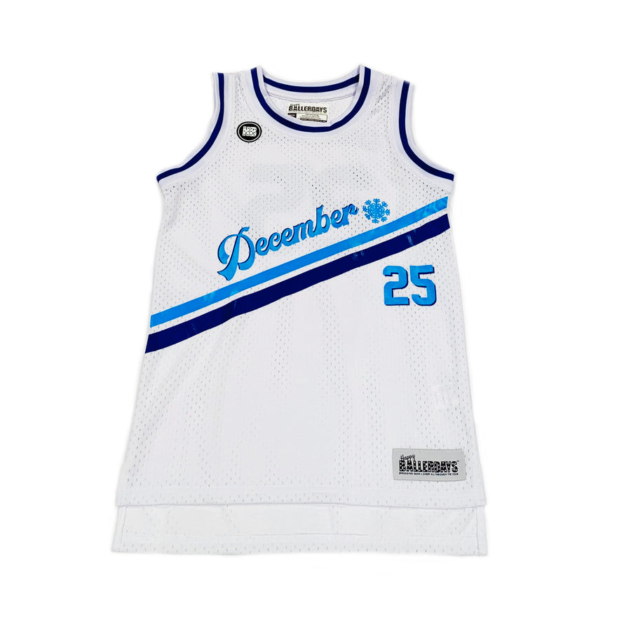 MENS BASKETBALL JERSEY - WHITE