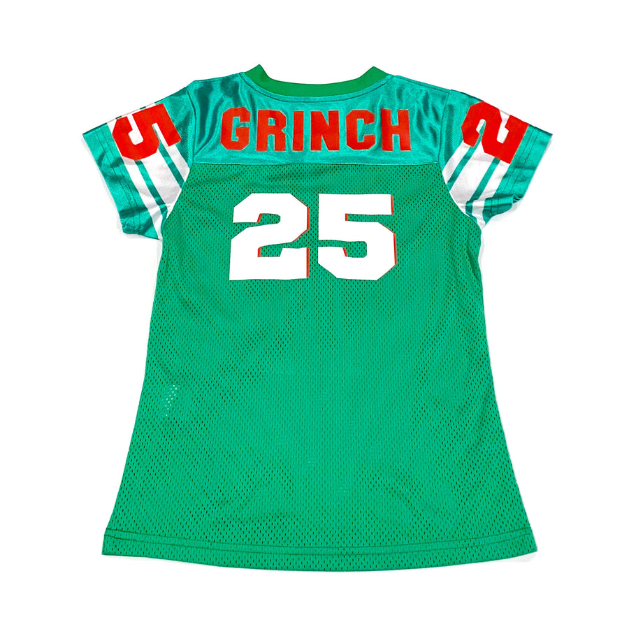 BOYS FOOTBALL JERSEY - GREEN CHRISTMAS