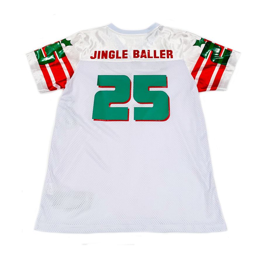 BOYS FOOTBALL JERSEY - WHITE CHRISTMAS