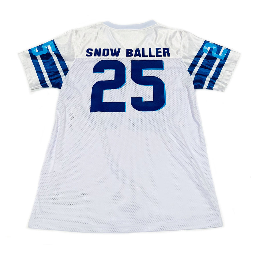 TODDLER BOYS WHITE FOOTBALL JERSEY -