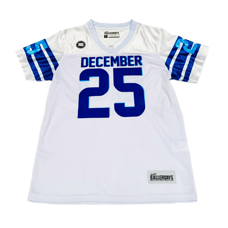 MENS FOOTBALL JERSEY - WHITE