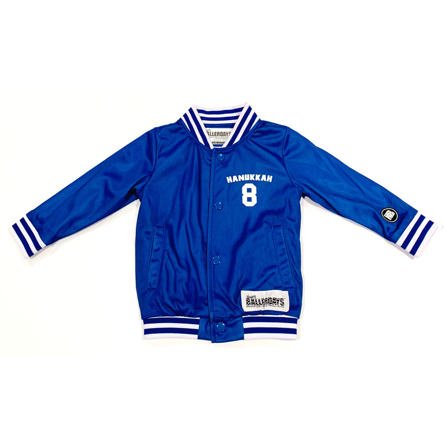 UNISEX ADULT BASEBALL JACKET - HANUKKAH