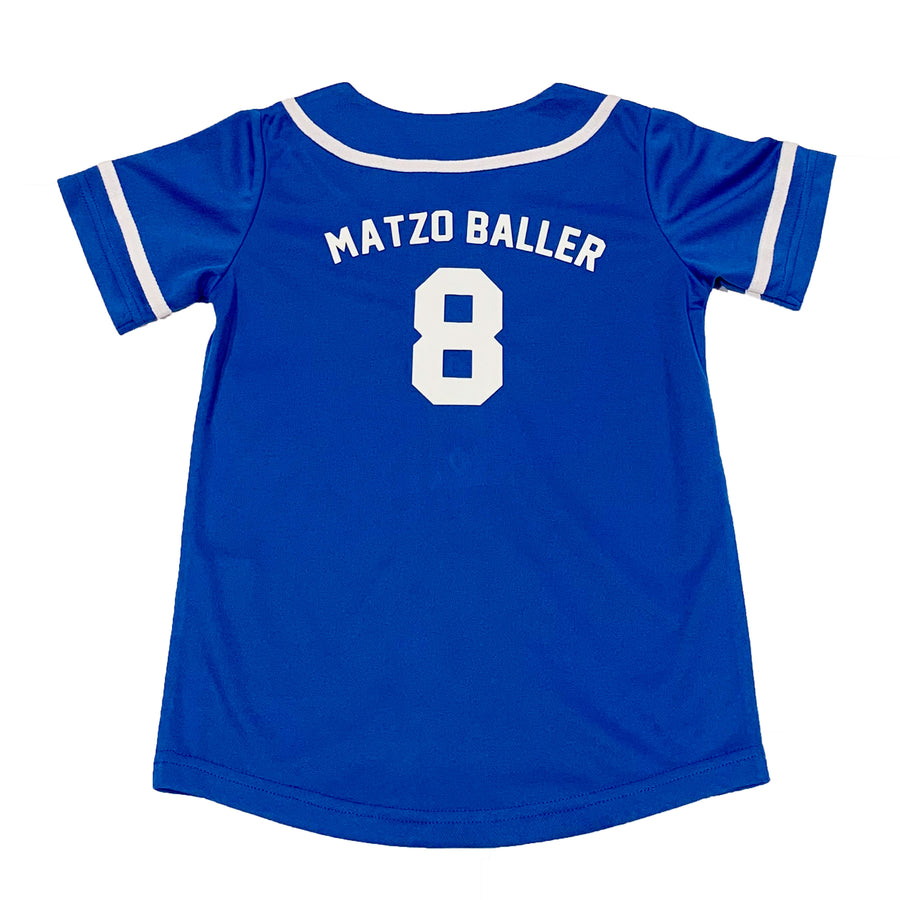 MENS BASEBALL JERSEY - BLUE