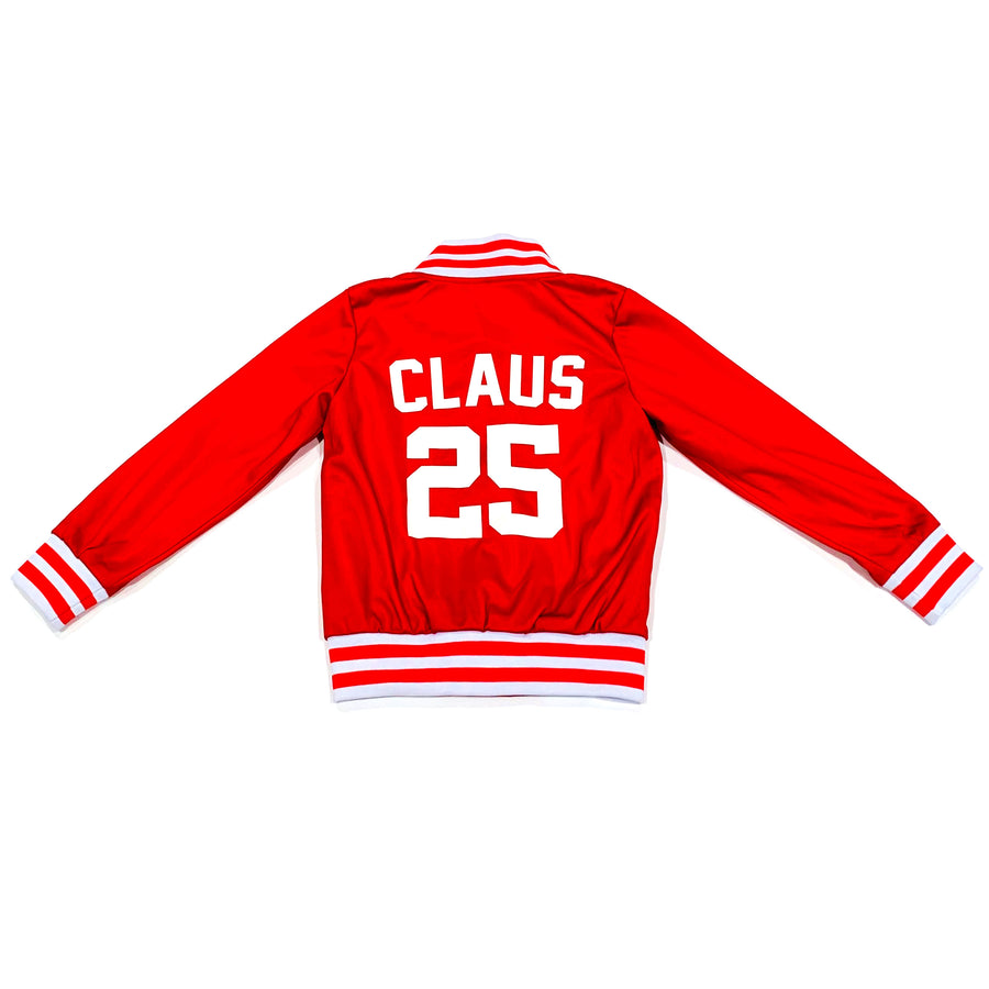 UNISEX YOUTH BASEBALL JACKET - CHRISTMAS