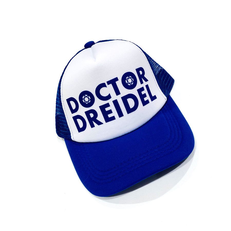 UNISEX ADULT TRUCKER HAT - HANUKKAH