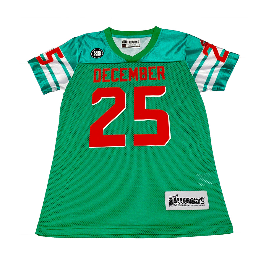 WOMENS FOOTBALL JERSEY - GREEN