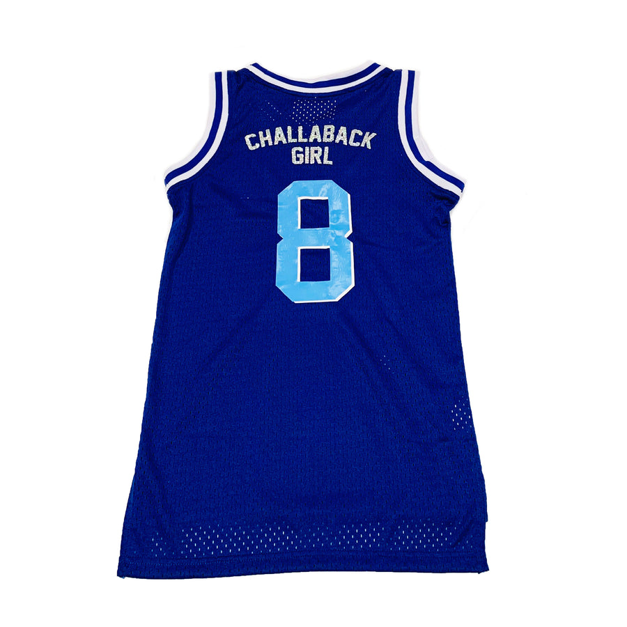 WOMENS BASKETBALL JERSEY - BLUE