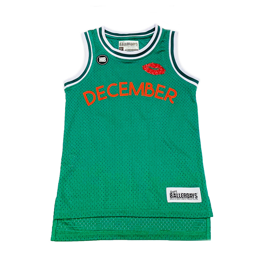 WOMENS BASKETBALL JERSEY - GREEN