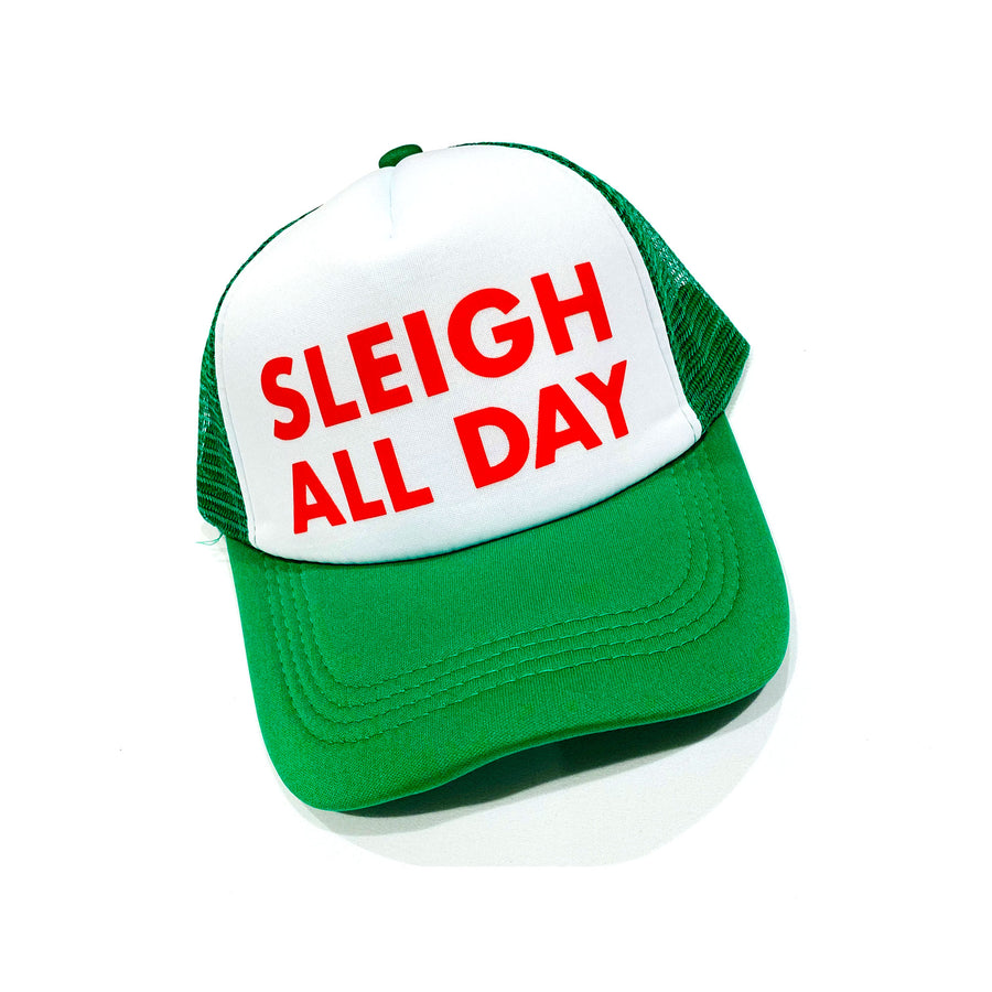UNISEX ADULT TRUCKER HAT - CHRISTMAS