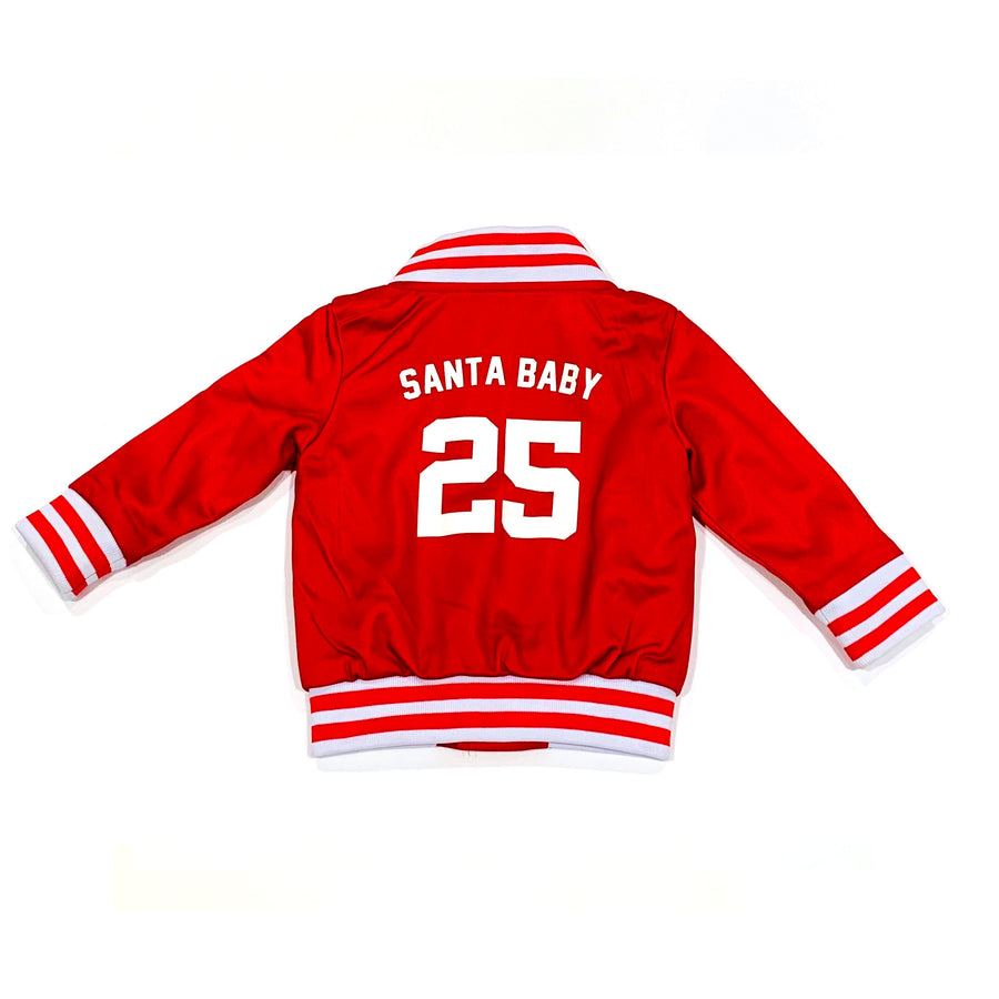 UNISEX TODDLER BASEBALL JACKET - CHRISTMAS