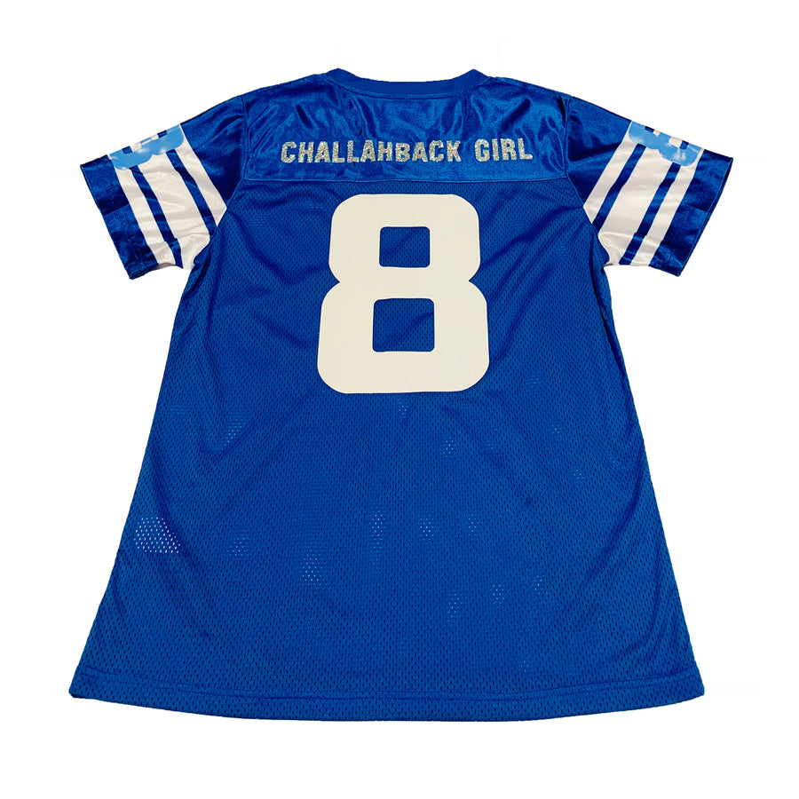 WOMENS FOOTBALL JERSEY - BLUE