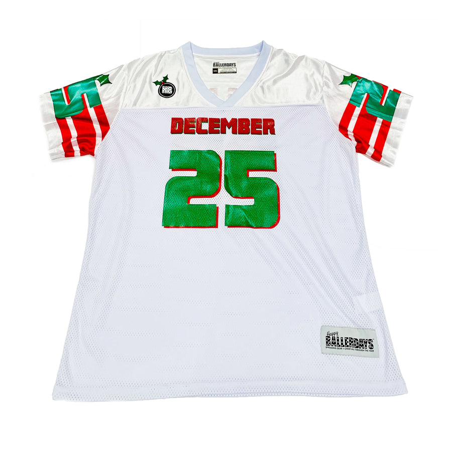 WOMENS FOOTBALL JERSEY - WHITE