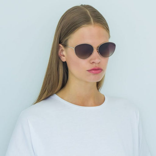 Linda Farrow 508 C6 Cat Eye Sunglasses
